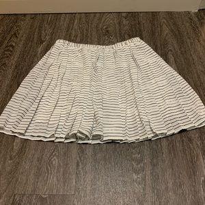 Banana Republic Pleated Elastic Waist Skirt